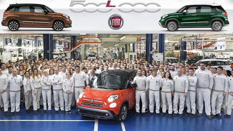Fiat vient de produire la 500'000e 500 L