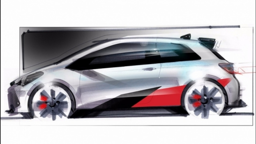 Toyota, in cantiere una Yaris