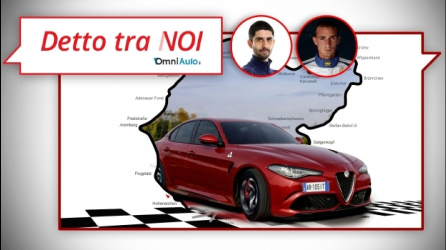 Alfa Romeo Giulia Quadrifoglio, come si guida sul Ring [VIDEO]