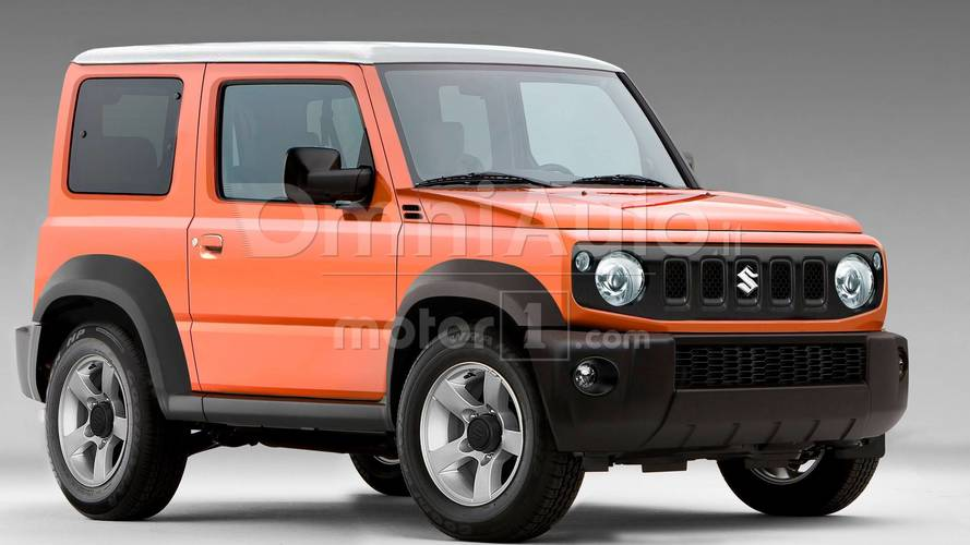 Suzuki Jimny render