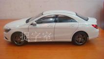 Mercedes-Benz CLA die cast model surfaces