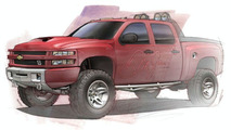 Dale Earnhardt Jr. Big Red Chevrolet Silverado Concept