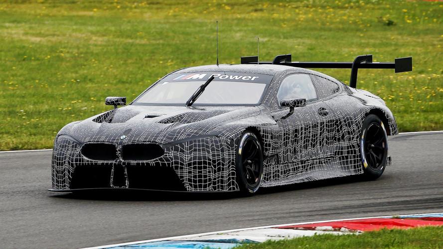BMW M8 GTE Lausiztring'de ilk testlerini tamamladı