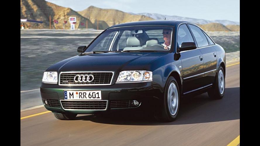 Audi A6 Security zum Mieten: Bodyguard mit 250 PS