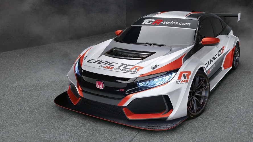 Honda Civic Type R Ready To Go Racing in 2018