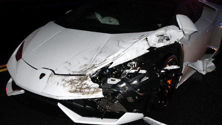 Un jeune de 23 ans crashe une Lamborghini Huracán de location