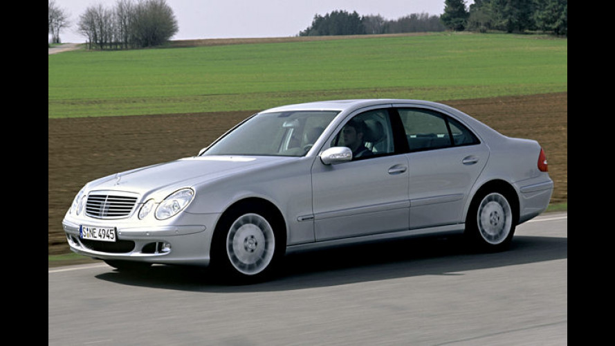 Drehmoment-Riese: Diesel-Power im Mercedes E 420 CDI