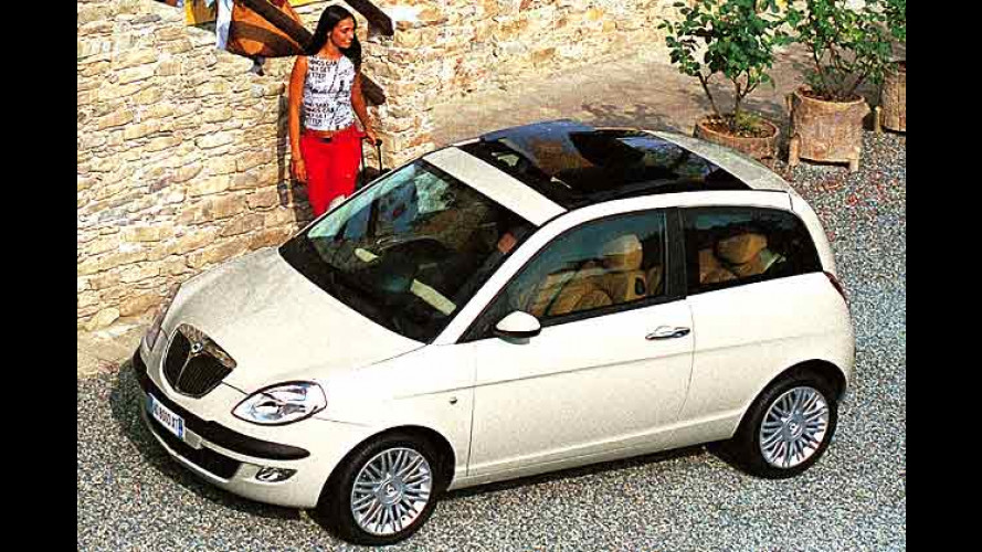 Süßes Nichtstun im Lancia Ypsilon: Müßig-Gang dank DFN