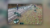 beer spill