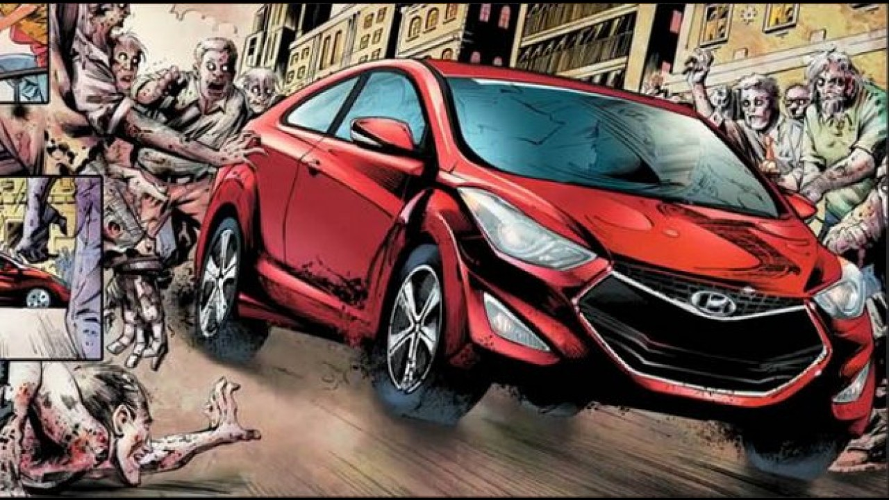 "Hyundai Elantra Coupé ""The Walking Dead"" - A máquina de sobrevivência anti-zumbi"