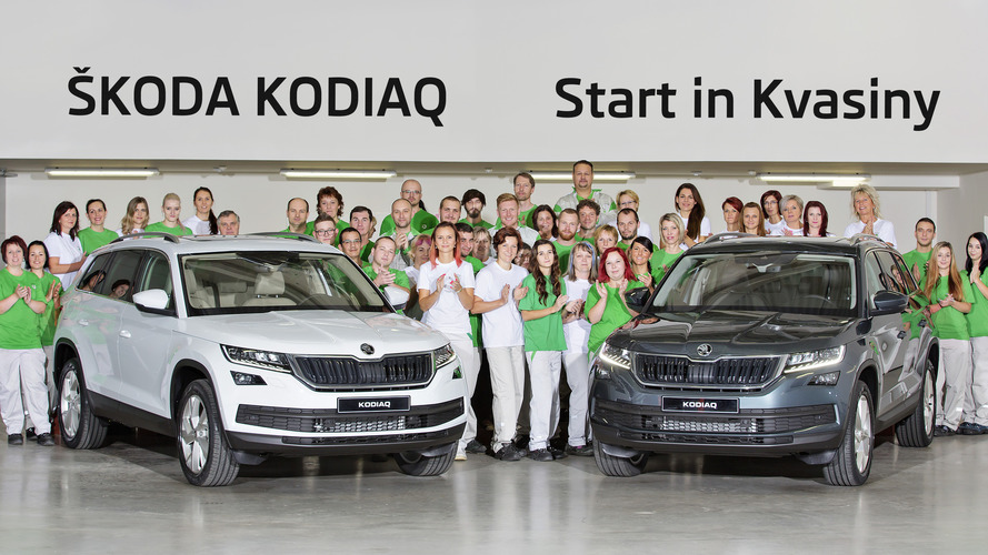 2017 Skoda Kodiaq factory production