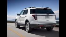 Ford divulga imagens e detalhes do Novo Explorer Sport