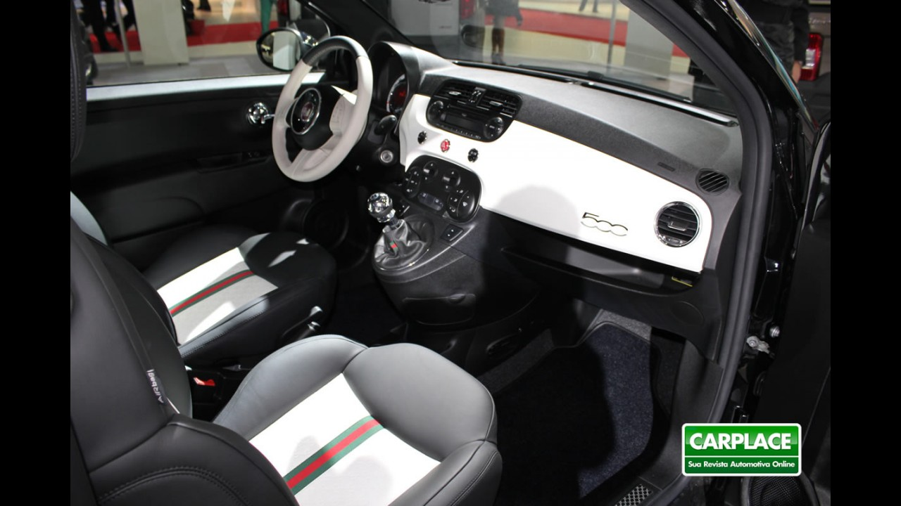 Salão de Buenos Aires: Fiat 500 Gucci, a versão do compacto em traje de gala