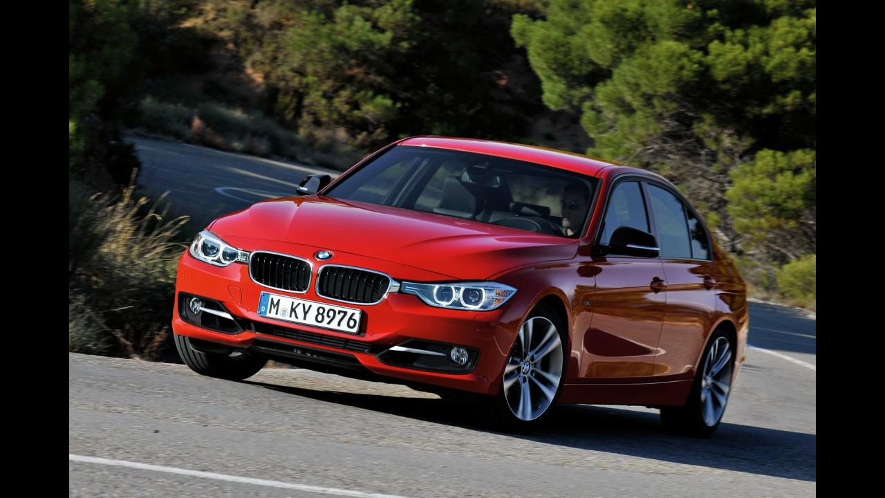 Recém-lançado, Novo BMW Série 3 chegará ao Brasil em março de 2012