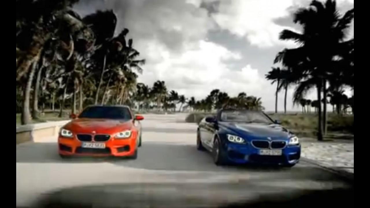 Vídeo: Novo BMW M6 2012 agora em movimento