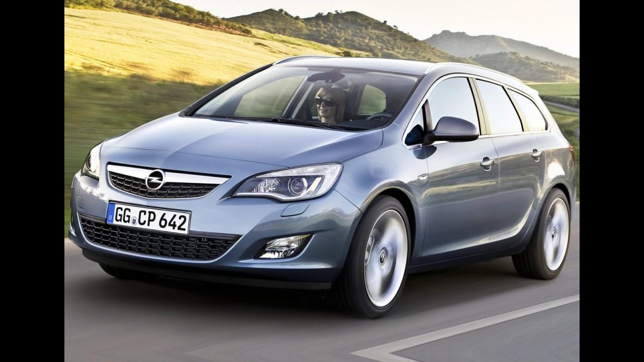 """Hatch médio com motor """"mil"""": novo Opel Astra usará bloco 1.0 Ecotec turbo"""
