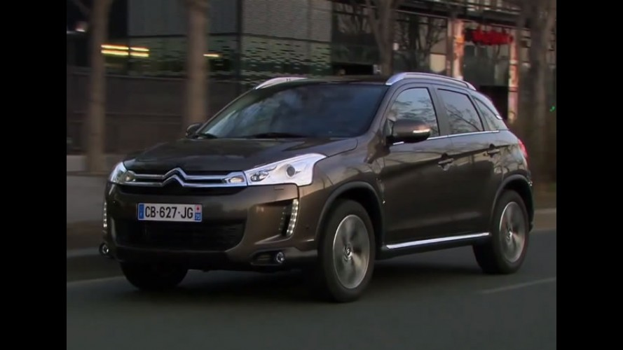 Citroën já prepara visto do Novo C4 AirCross para o Brasil