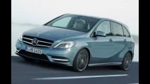 Mercedes-Benz apresenta oficialmente primeiros detalhes da Classe B 2012 - Veja fotos