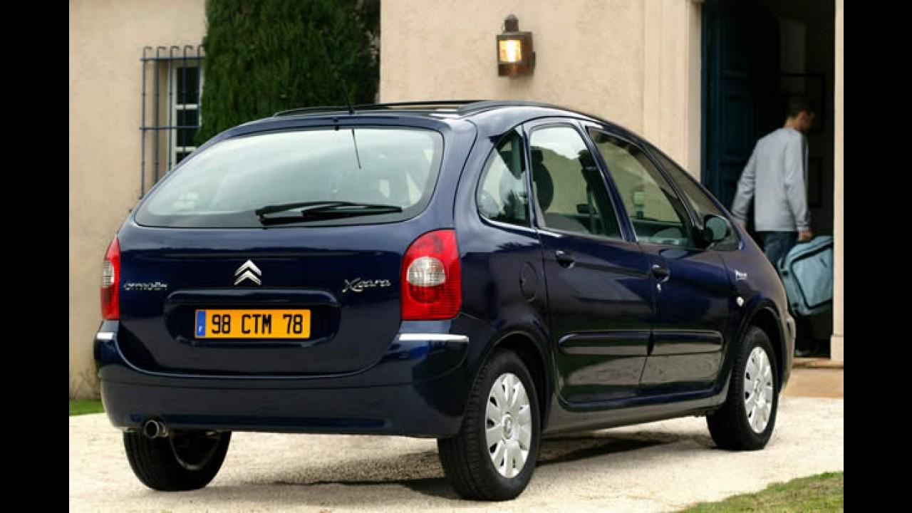 Citroën encerra carreira da Xsara Picasso na França
