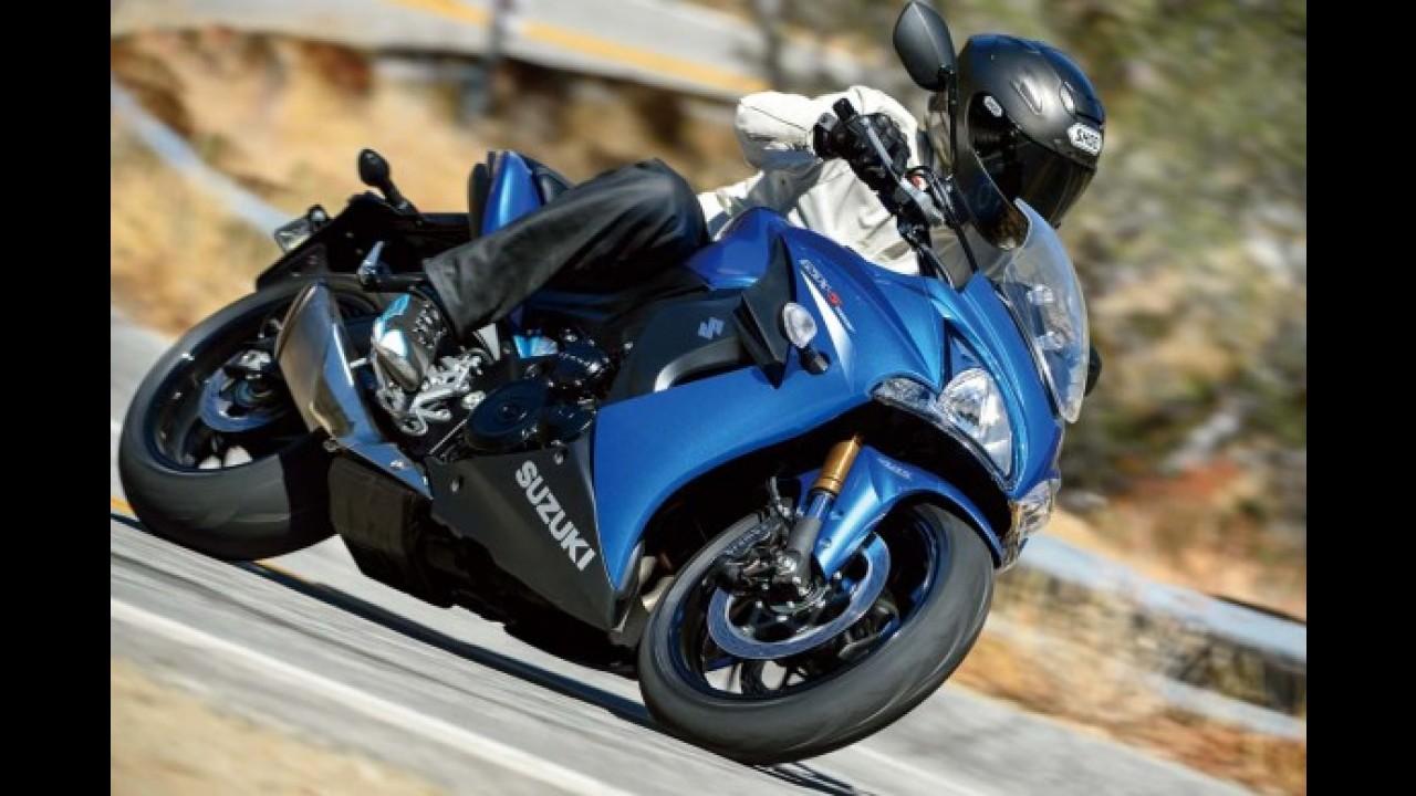 Salão de Colônia: Suzuki exibe novas GSX-S1000 naked e carenada
