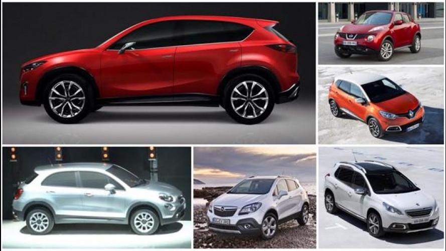 Mazda CX-3, in città arriva un nuovo piccolo SUV