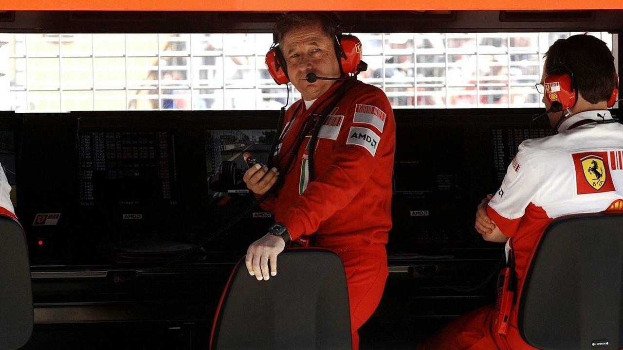 Jean Todt in busier F1 times