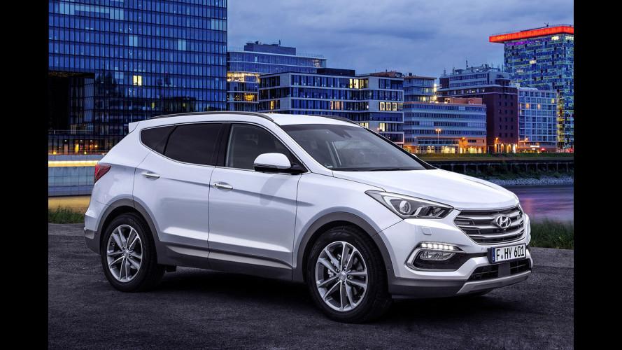 Hyundai Santa Fe, un restyling