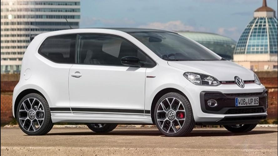 Volkswagen up! GTI concept, 115 CV in miniatura