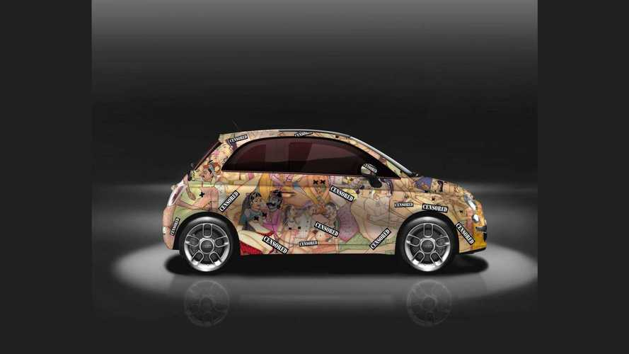 Kama Sutra-Themed Fiat 500 Is Tastefully NSFW
