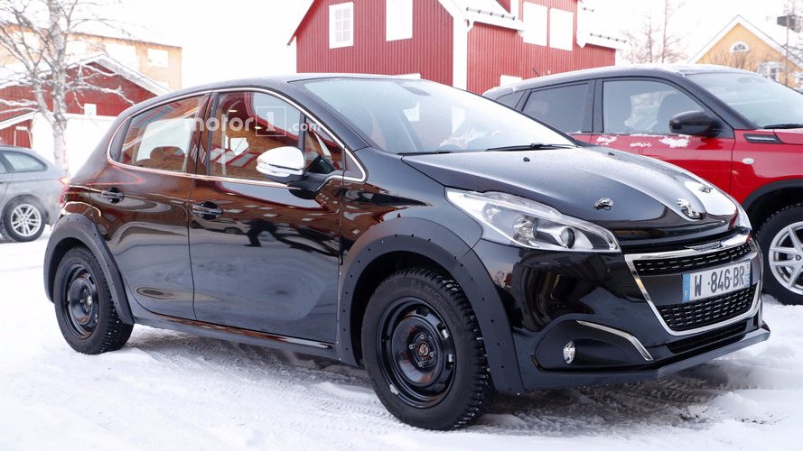 All-new Peugeot 208 makes spy photo debut