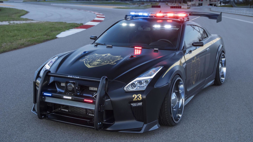 Copzilla Is Coming To New York: Nissan GT-R Police Car At NYIAS