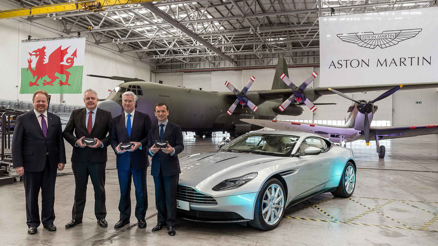 Aston Martin s'installe à St Athan, lieu où sera produit son futur SUV