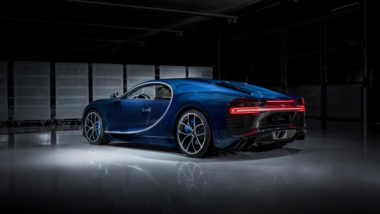 Bugatti Chiron Bleu Royal