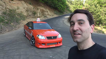 Drift Taxi at Ebisu Circuit