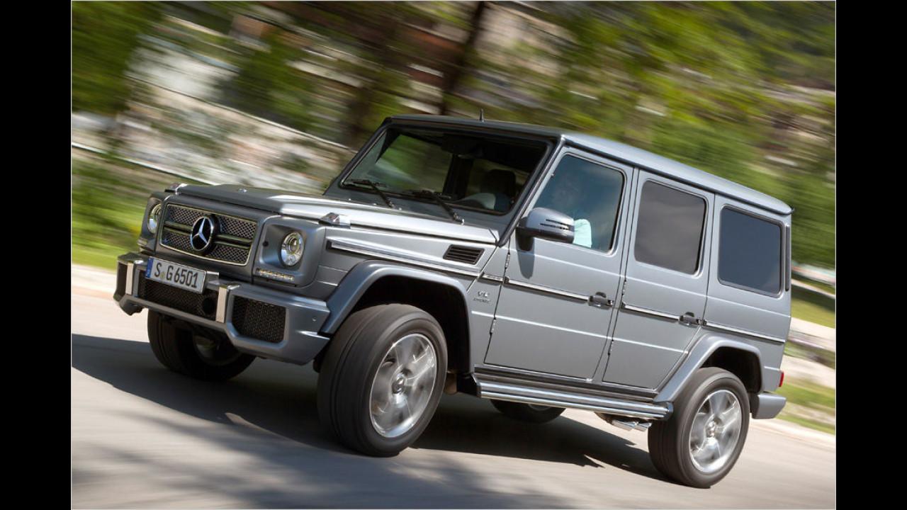Platz 1: Mercedes-AMG G 65