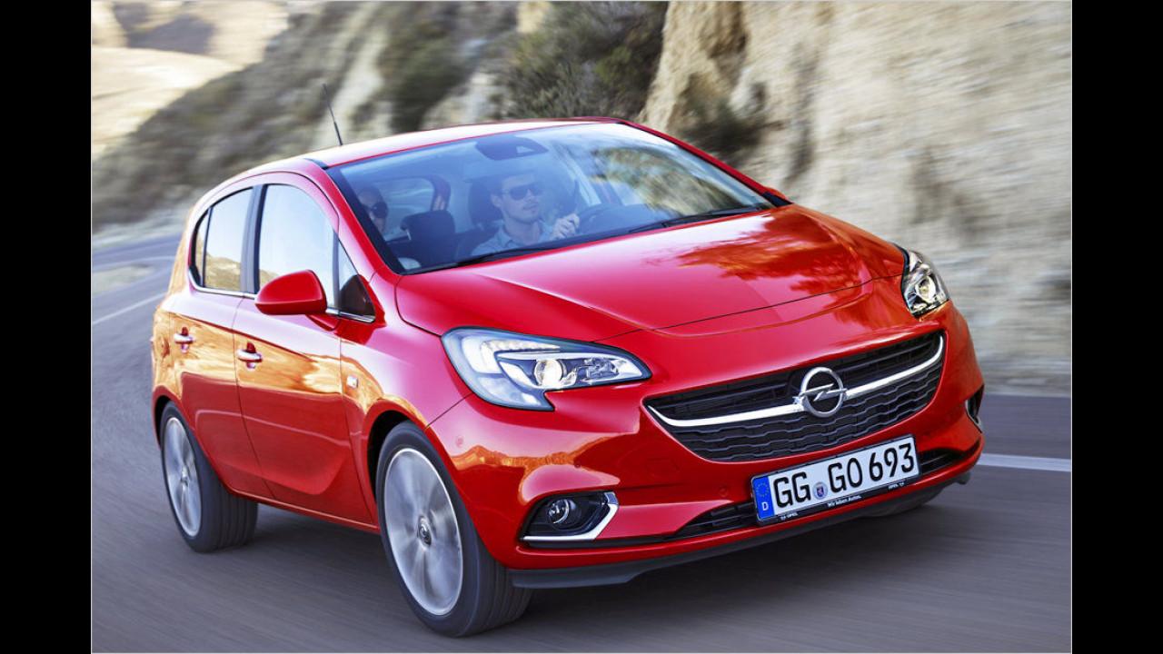 Platz 5: Opel Corsa