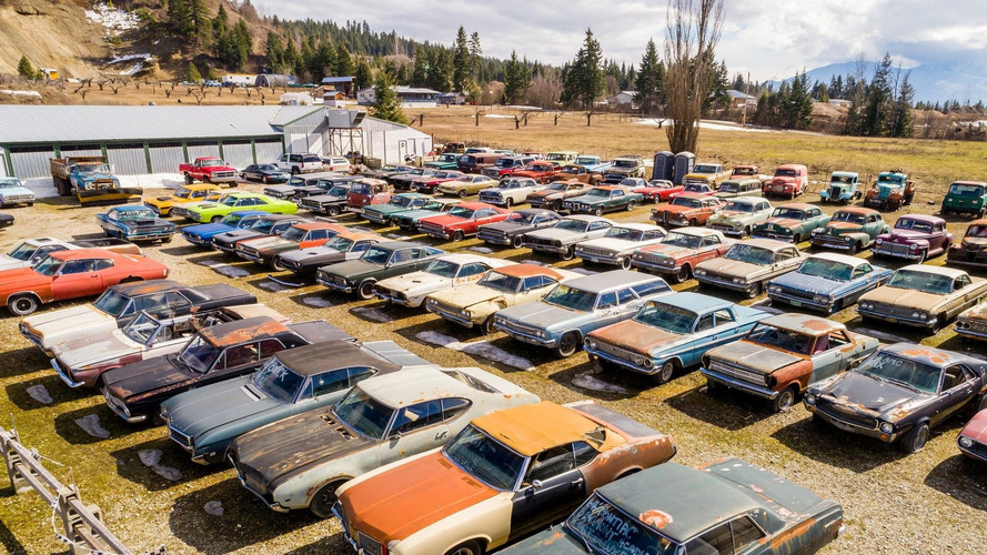 Guy Selling Land With 340 Rusting Classics For $1.5M, Where Do I Sign?