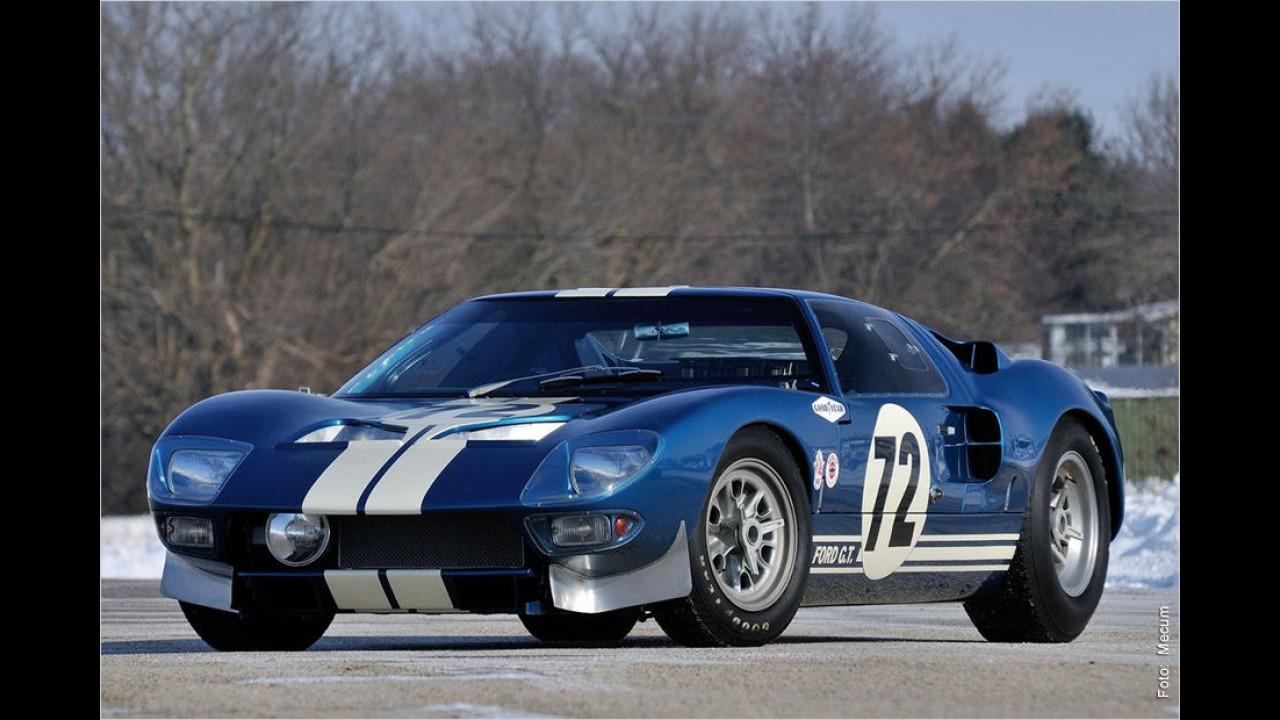 Platz 10: Ford GT40 Prototyp, Baujahr 1964