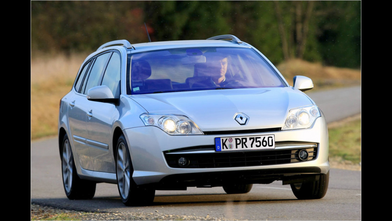 Platz 15: Renault Laguna Grandtour 1.5 DCI T