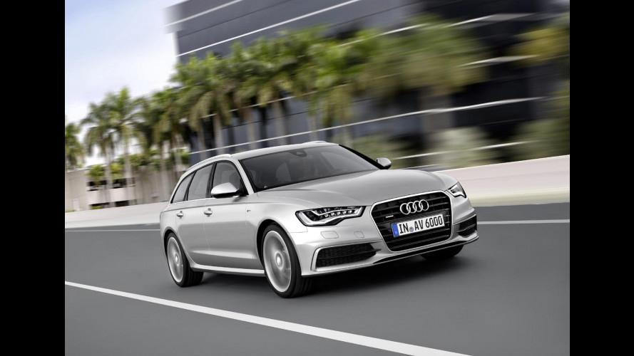 Audi A6 Avant, la