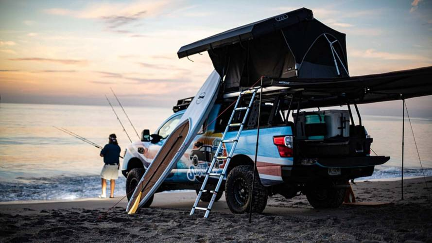 Nissan Titan Surfcamp Wants To Make Your Life A Beach