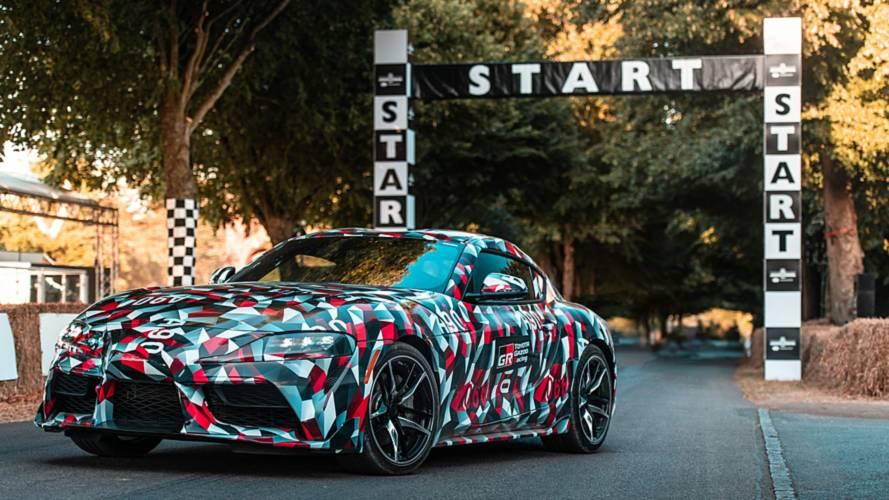 VIDÉO - Premiers tours de roue pour la Toyota Supra à Goodwood