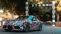 2019 Toyota Supra teasers