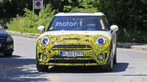Mini Clubman facelift spy photos