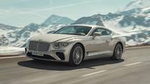 Nuova Bentley Continental GT, prima prova su strada
