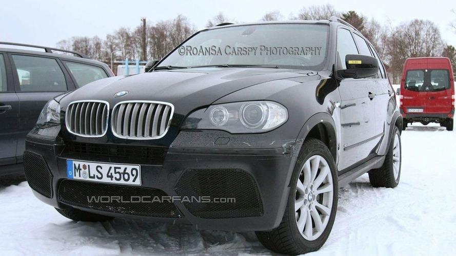 Latest BMW X5 4.8iS Spy Photos