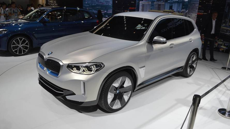Bmw Concept Ix3 Plugs Into Beijing With 249 Miles Of Range