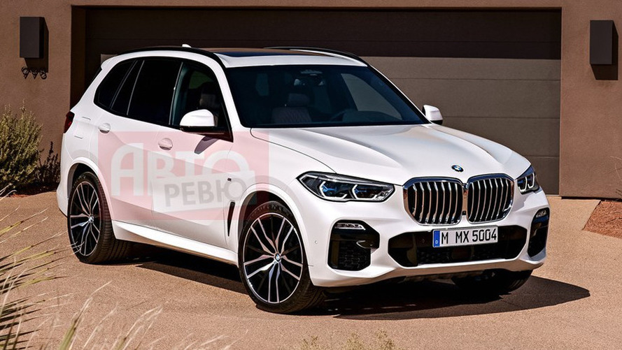Are these leaked official images of the new BMW X5?