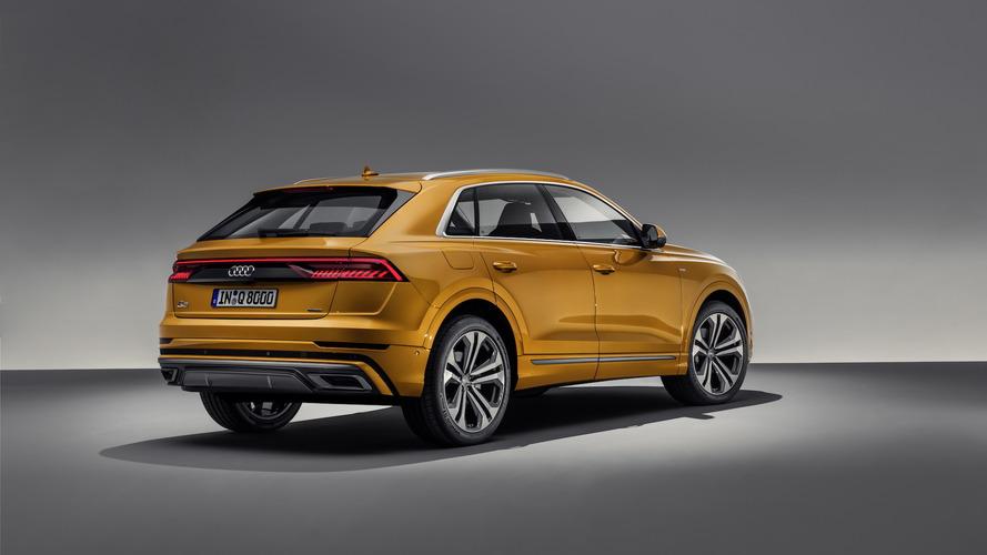 Audi Q8 vista da vicino