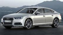 2017 Audi A5 Sportback render